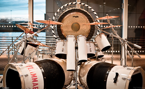 Alex Van Halen's Drum Kit | by N. Maung
