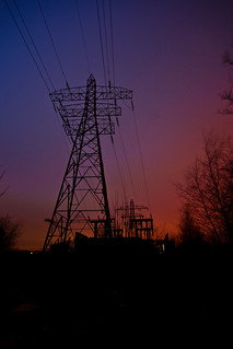 Pylon and substation | by Synchronium