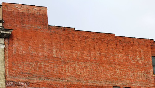 Faded Sign Project Franzheim Co. | by Ohio County Public Library
