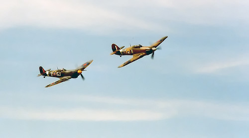 Spitfire and Hurricane | by posterboy2007
