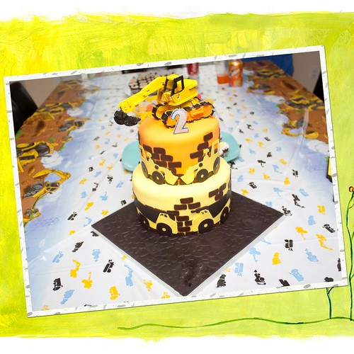 Sheldon's Construction Cake | by Designable Dreams - Cake Edition :)