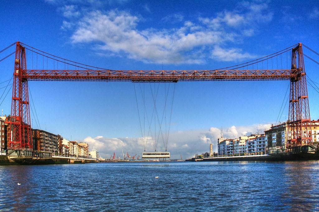 Znalezione obrazy dla zapytania puente de vizcaya bilbao