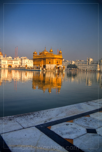 Amritsar Golden Temple day HDR 1 | by GlobeVantage.com