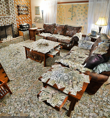 A Room Filled with an Obnoxious Amount of Money | by Photo Extremist