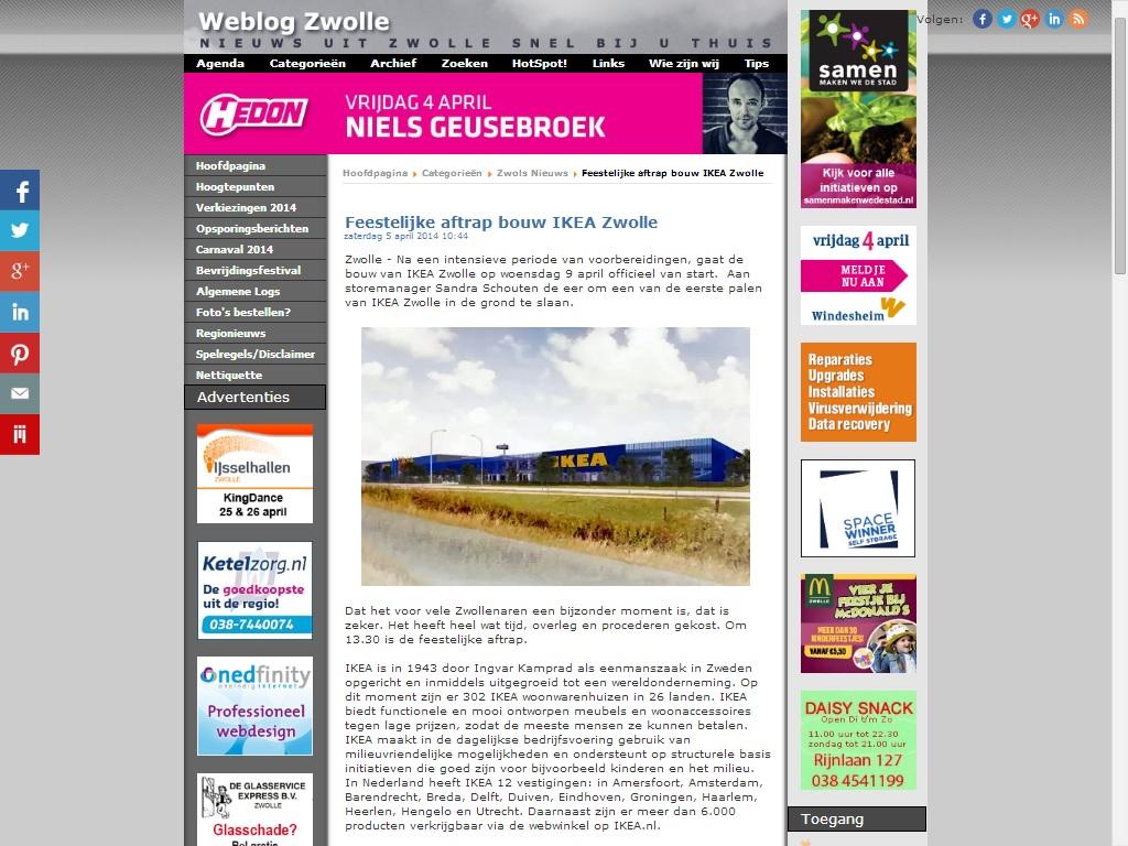 Feestelijke Aftrap Eerste Paal Ikea Feestelijke Aftrap Bou Flickr