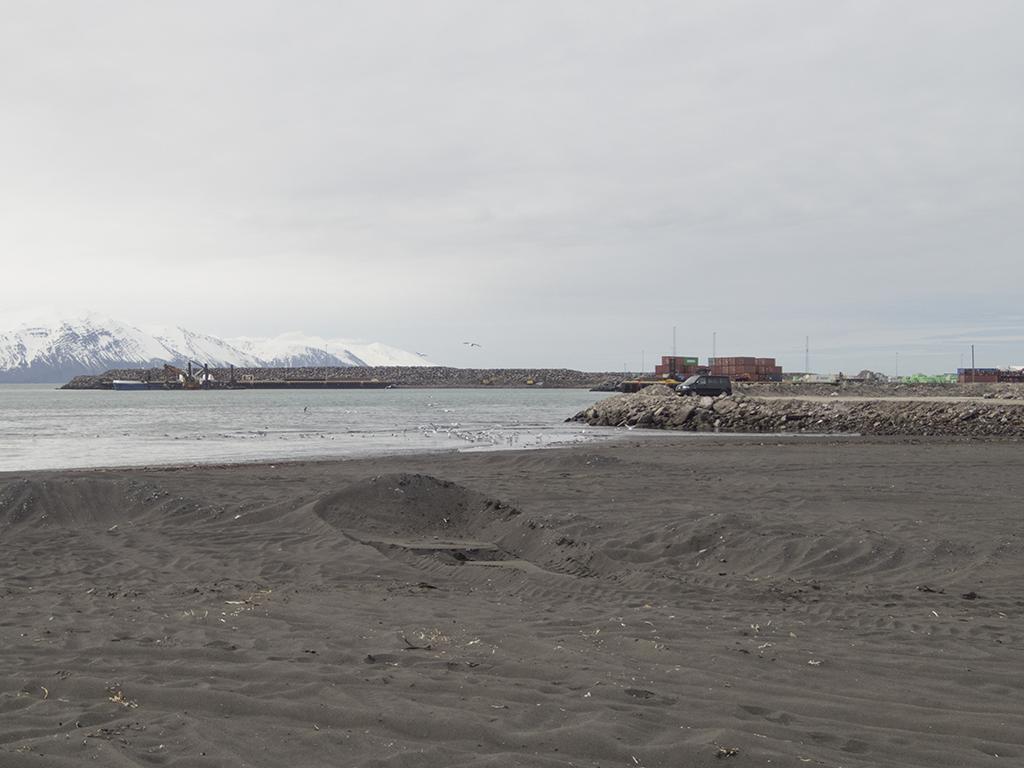 Husavik Beach   Iceland