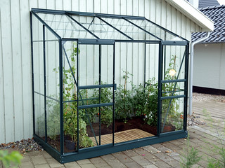Greenhouse Vitavia Ida Lean to 4x8 Green | by Greenhouse Stores