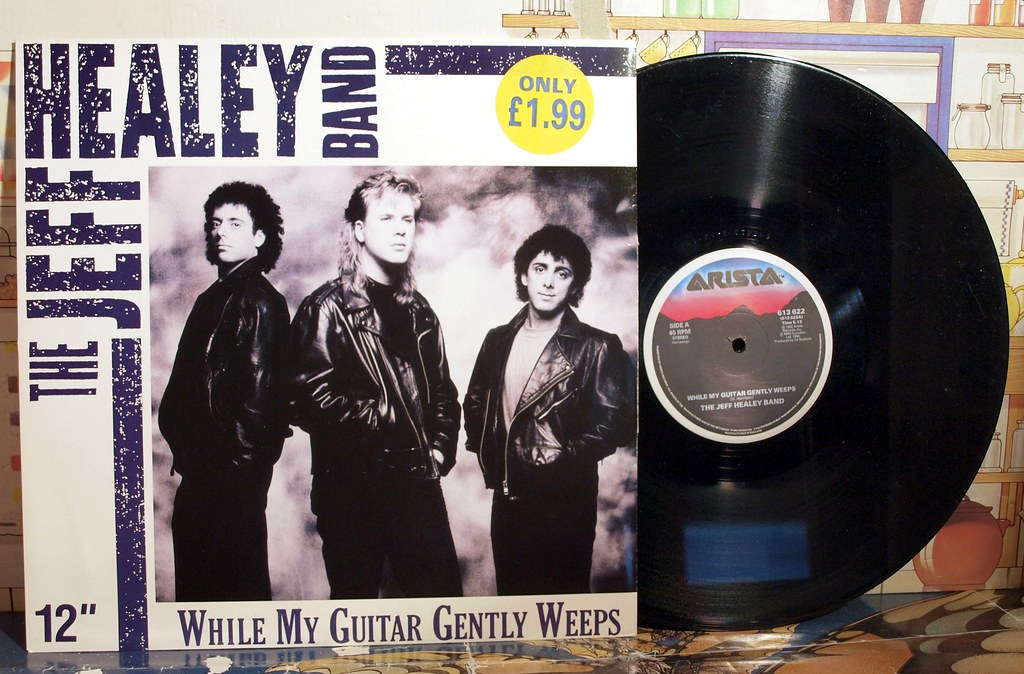 while my guitar gently weeps, jeff healey band, | badgreeb RECORDS ...