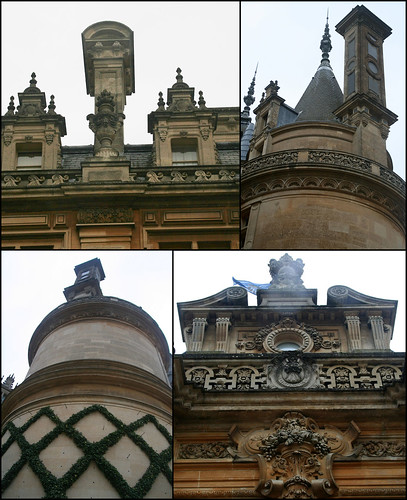 Chimneys and decorations, Waddesdon Manor, Buckinghamshire | by alanhitchcock49