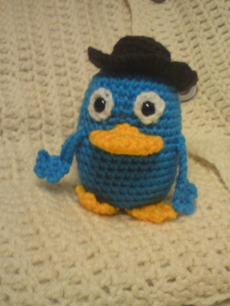 Perry The Platypus As Agent P To Match The Hat I Made Fre Flickr