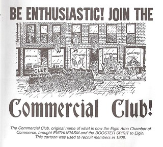 Elgin Area Chamber - Logo Commercial Club 1908 | by Elgin Area Chamber