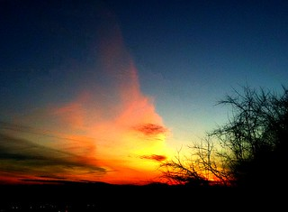 Christmas Eve Sunset 2011 in Picnik | by joehall45