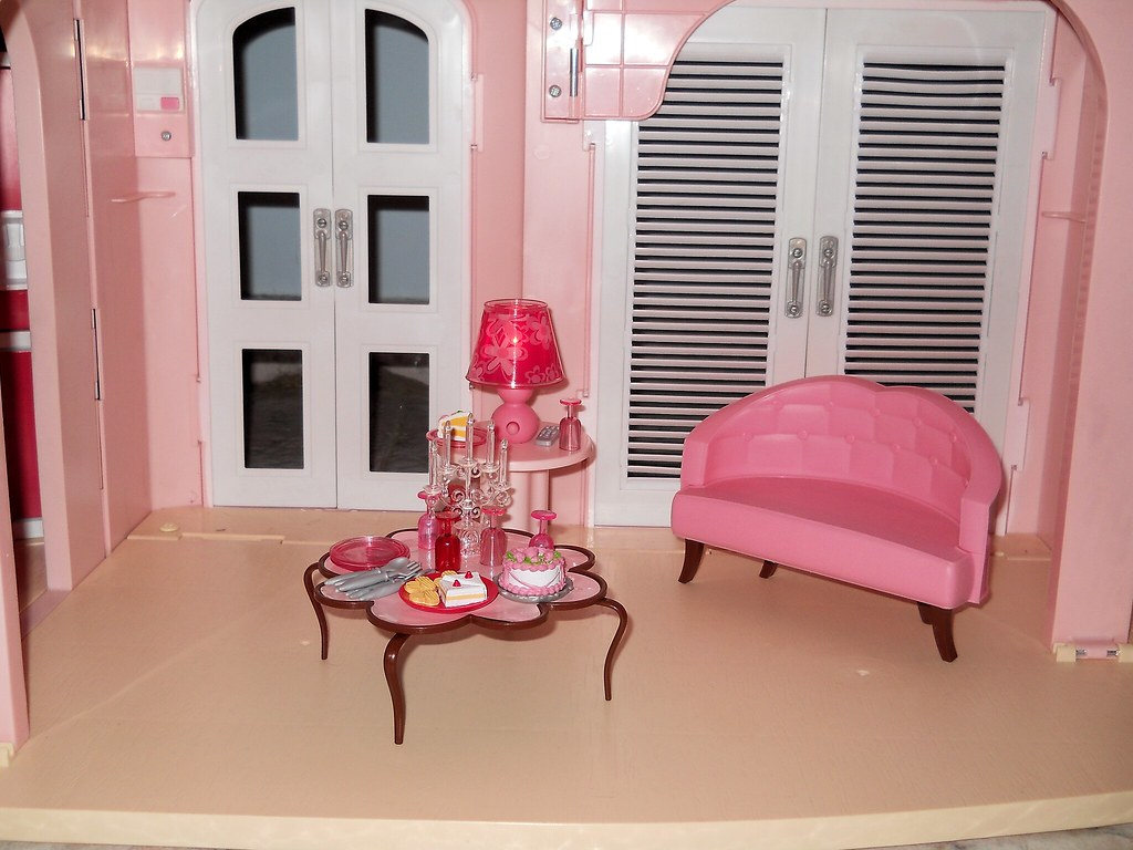 ... Barbie Dream House 2007 Living Room | By U2022 Katie Doll ~