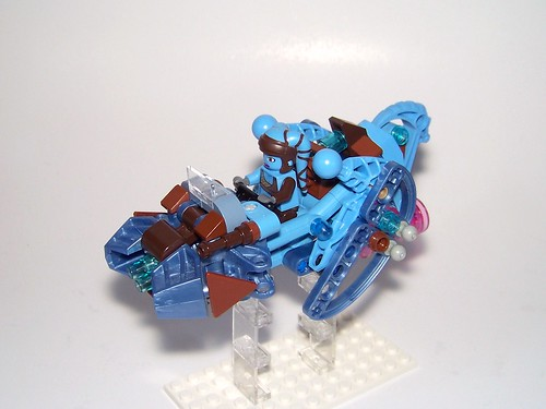 LEGO - Star Wars - Secura's Speedbike | by Slayerdread
