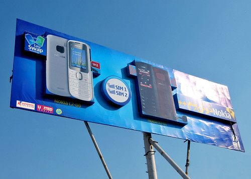 nokia creative billboard | by Saba Chaudry
