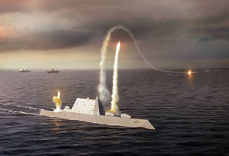 Another impression of USS Zumwalt