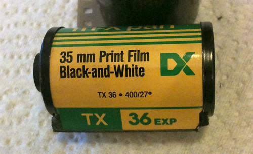 Tri-X Pan 35mm canisters - 2 | by redspotted