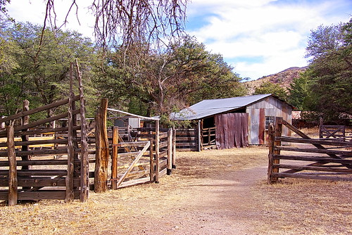 Faraway Ranch - stables and barn | by Al_HikesAZ