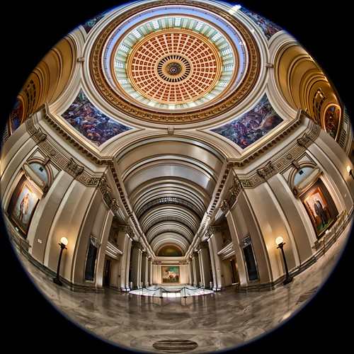 Oklahoma State Capitol Building a fisheye view - explore #147 | by Marvin Bredel