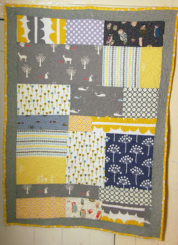 quilt for baby henrietta 1 | by poshdee