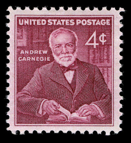 1960-11-25 Andrew Carnegie Postage Stamp | by U.S. Embassy The Hague