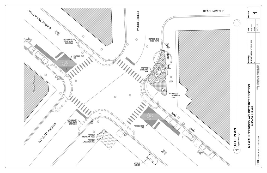 Reimagining the Milwaukee-Wood intersection (1 of 2)