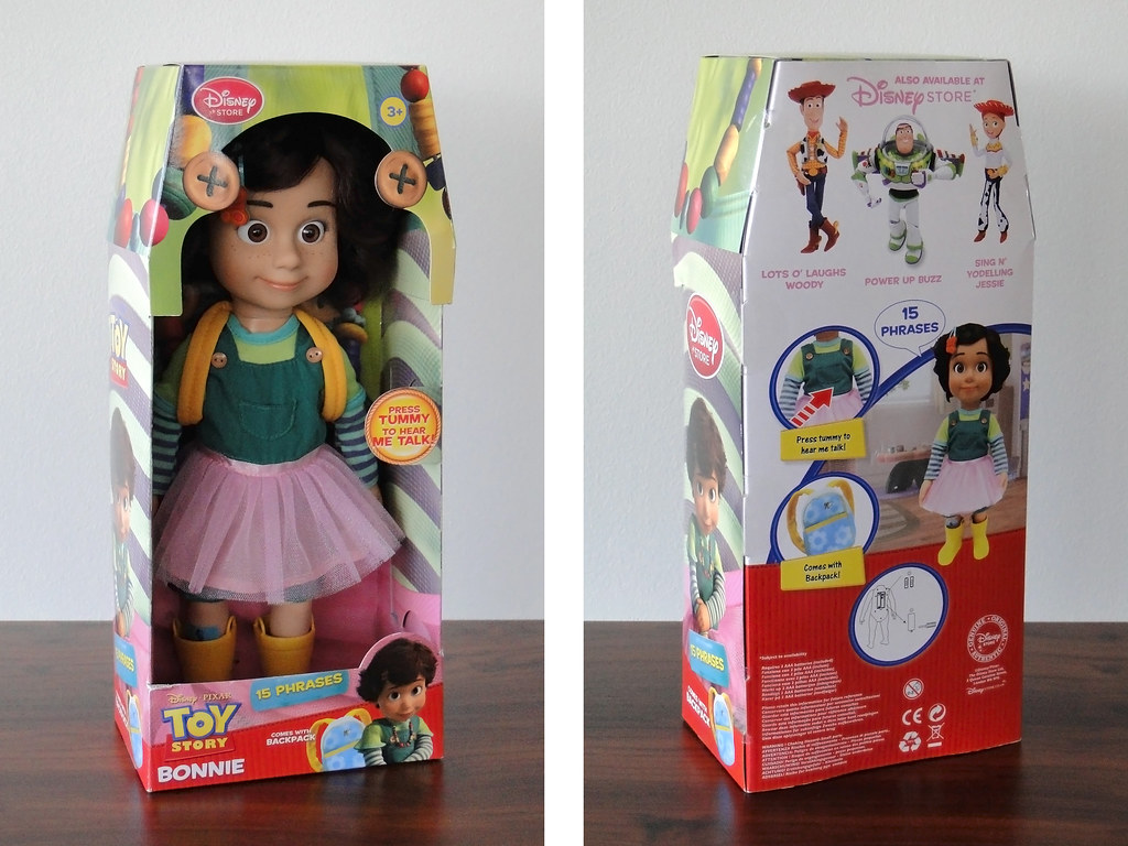 Toy Story 3 Talking Bonnie Doll Packaging Uk Disney Store Flickr