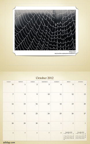 ADIDAP Calendar 2012 US Retro October | by akhater