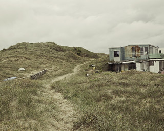 Dune shack | by roundtheplace