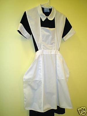 Very classical black white closed collar maid uniform flickr very classical black white closed collar maid uniform by publicscrutiny Choice Image