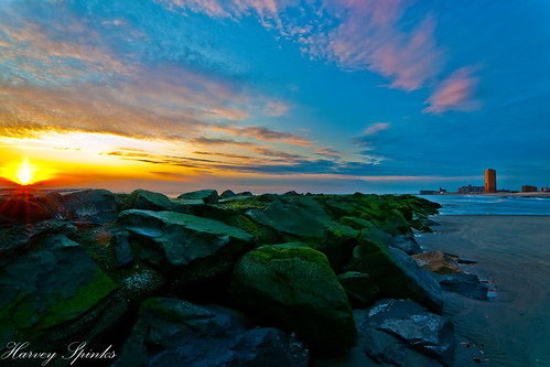 Beautiful colors, sunrise and the Jetty | by Harvey Spinks