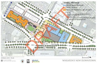 Draft plan for downtown Wheaton, Winter 2011 | by dan reed!