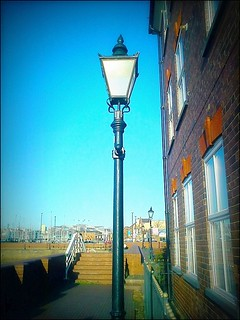""" Old Street Lamp "" 