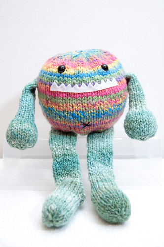 Tony the Handspun Toy-Box Monster | by mslindz