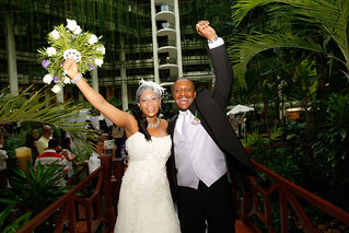 Congratulations Claudia & Olumide | by Tropical Wedding Experts.
