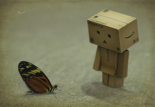 Danbo & Miss Isabella Longwing | by .•۫◦۪°•OhSoBoHo•۫◦۪°•