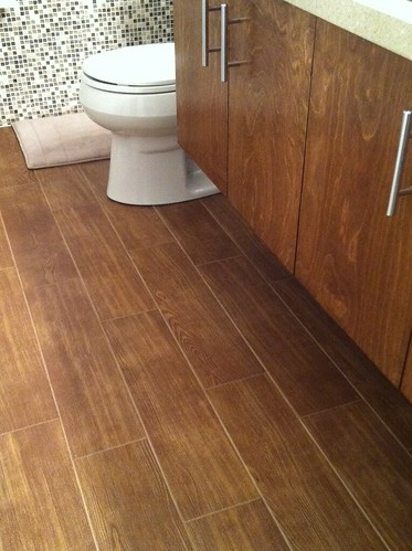 hardwood tile in bathroom wood tile bath ackley flickr 18676