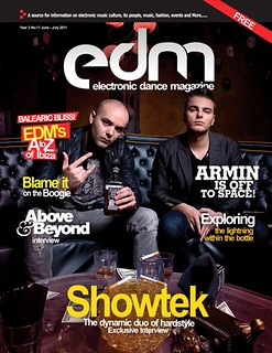 EDM Cover June/July 2011 | by Sara Cooper PR