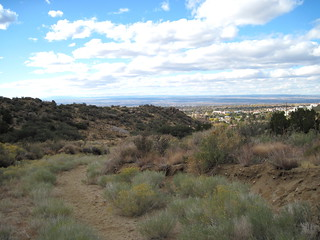 View of Albuquerque from Lomas Canyon 20111114 | by Kenneth Cole Schneider