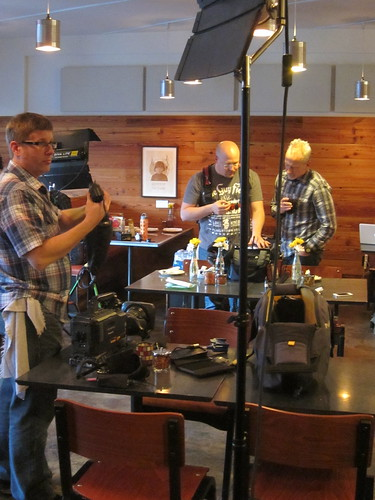 Diners, Drive-ins & Dives Shoot at Pizzeria Lola | by katbaro