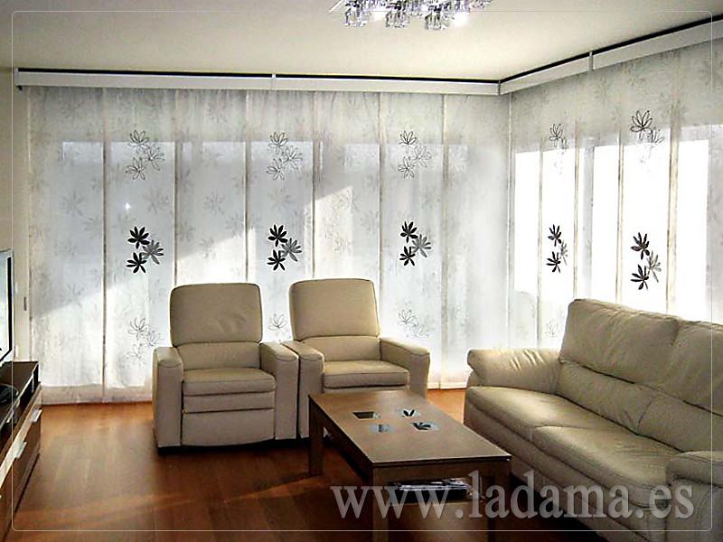 Decoración para Salones Modernos: Cortinas, Paneles Japone… | Flickr
