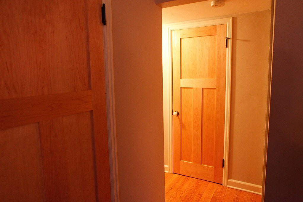 ... 3 Panel Maple Interior Doors   By Landgraf Studios