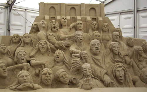 Sand Sculpures on Brighton Beach | by AssyntNature