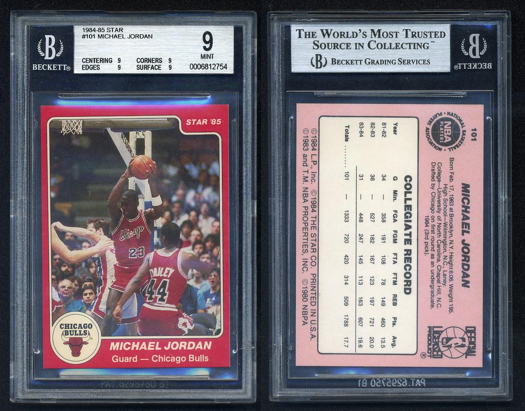 1984 85 Star Michael Jordan 101 BGS 9
