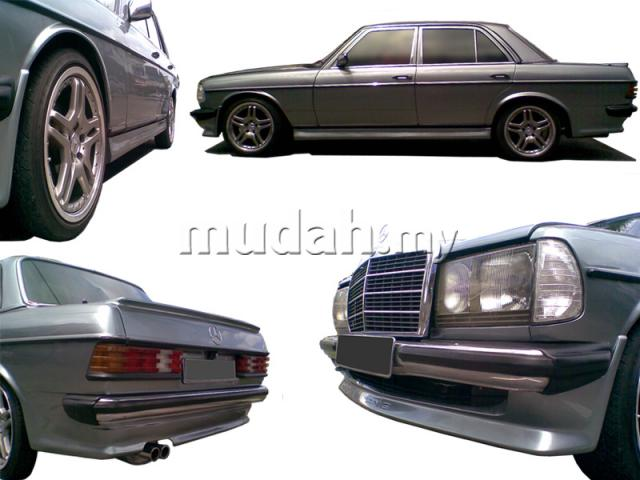 Mercedes Benz W123 Amg Custom Body Kit Miguel Flickr