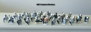 MGF Customs/Reviews Line Up for 2011 - Clone Troopers | by MGF Customs/Reviews
