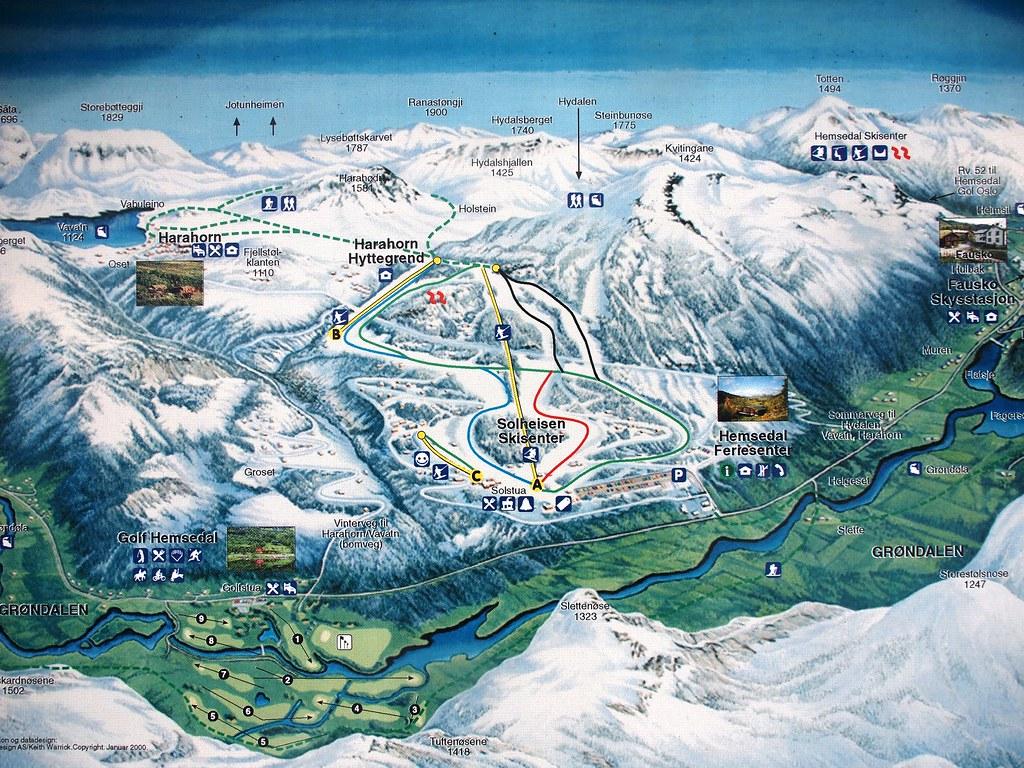 kart over hemsedal Kart over Hemsedal | Kjell Arne Berntsen | Flickr kart over hemsedal