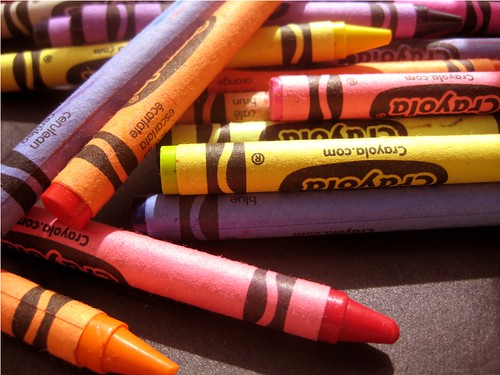Crayons | by PhotoPuddle