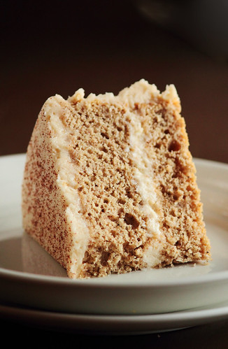 Cinnamon Sugar Cake with Brown Sugar Cinnamon Buttercream | by pastryaffair
