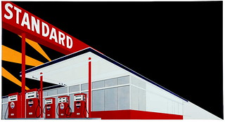 Ed Ruscha, Standard Station, 1966 | by Sign Painter Movie